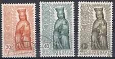 Liechtenstein 1954 gestempeld Michel 329-331 - Maria Jaar