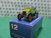 Vintage -  FIAT Zero Spyder scoperta 1914  -  1/43  Rio  n° 12   Mint in Box