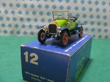 Vintage - Fiat Zero Spyder Off 1914 - 1/43 Rio N° 12 mint IN Box