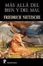 Mas Alla Del Bien y Del Mal by Friedrich Wilhelm Nietzsche (2012, Paperback)