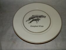 "Vintage, Whale Watch Series, Limited Edition 1500, Humpback Whale, 8 1/4"", Plate"