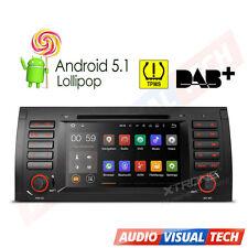 "BMW X5 E53 Android 5.1 7"" Car DVD Player Stereo Radio GPS Sat Nav OBD2 WiFi 3G"