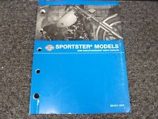2009 Harley Davidson Sportster 1200 Custom Low Nightster Parts Catalog Manual
