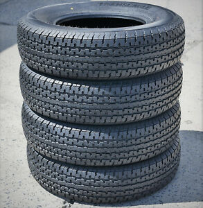 4 Tires Transeagle II Steel Belted ST 225/75R15 Load E 10 Ply Heavy Duty Trailer