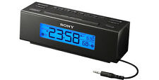 "NEW SONY ICF-C707 (B) ""DREAM MACHINE"" DIGITAL AM/FM CLOCK RADIO w/ NATURE SOUNDS"
