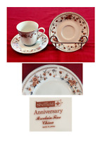 VINTAGE Sheffield Fine China ANNIVERSARY Pattern 3-Piece Set JAPAN
