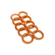 "HEL PERFORMANCE Copper Crush Washers M10, 10mm, 3/8"" (10 PACK)"