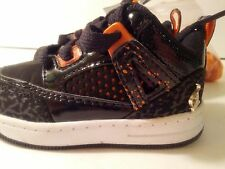 New in Box Baby Phat Toddler Sneaker Tennis Shoes Girl Size 5 Black and Orange