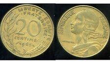 20 centimes 1965    marianne