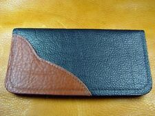 Black Bison BUFFALO LEATHER Deluxe Wallet handcrafted disabled Navy veteran 5015