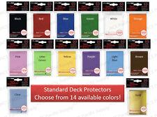 600 ULTRA PRO DECK PROTECTORS SLEEVES LOT Standard MTG 12 Pks Mix & Match Colors