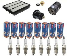 00-03 Toyota Tundra V8 2UZFE Tune-up Kit AIr-Oil-Fuel-Filters-Denso Spark Plugs