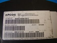 EPCOS 315MHz SAW Filter B39321-B3581-Z810, 3.8x3.8mm, 10pcs
