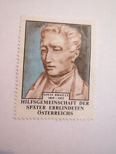 Louis Braille 1809-1852 Auxiliary community of later blinded/Advertising Brand
