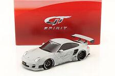 PORSCHE 911 (997) LB performance anno di costruzione 2010 Matt Grigio Chiaro 1:18 GT-SPIRIT
