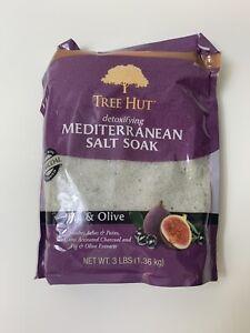 Tree Hut Detoxifying Mediterranean Epsom Salt Soak Fig & Olive - 3lbs