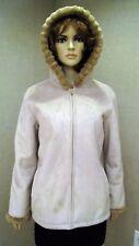 Jones New York faux fur shearling coat jacket new nwt sz L XL 8 10 12 womens