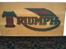 Rare Vintage Triumph Iron On T-shirt Transfer  NOS