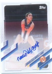 Nomaris Velez Agosto 2021 Topps Now Athletes Unlimited Volleyball Autograph