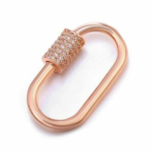 1pc Luxury Carabiner Clasps Charm Hanging Pendant Fashion Clasp Women DIY Jewelr