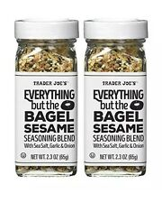 🔥 (2 Pack) Trader Joe's Everything but the Bagel Sesame Seasoning Blend - 2.3oz
