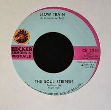 BLACK GOSPEL 45 The Soul Stirrers Checker 1241 Slow Train and Striving