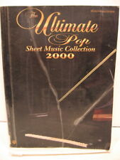 The Ultimate Pop Sheet Music Collection (2000, Paperback, Ex Lib.)
