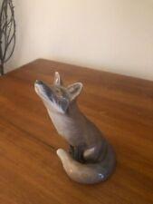 royal copenhagen figurine coyote