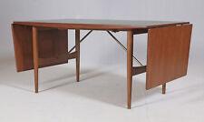 Vintage mid-century Danish Drop Leaf Table, 1950s / 1960s (Mogensen, Wegner era)