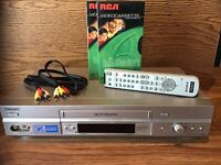 Sony SLV-N750 VCR VHS Recorder With Remote 2 Tapes AV Cables Tested Works Great