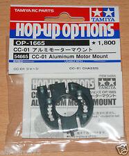 Tamiya 54665 CC-01 Aluminum Motor Mount (CC01/XC/Pajero/Jeep/Unimog/Bronco), NIP