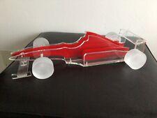 FERRARI Modell FORMEL 1, PLEXIGLAS, 40cm lang, 16cm breit, 8cm hoch.