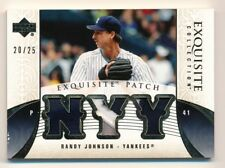 2006 Exquisite * RANDY JOHNSON * Game Used Triple Patch * #20/25