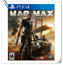 PS4 Mad Max SONY PlayStation Warner Home Video Games Action
