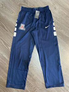 Nike Men's Arizona Wildcats Therma Elite Basketball Pants L $70 835384-420 NEW
