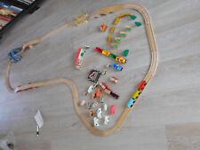 Holzeisenbahn rd.135 Teile von Brio,Ikea,Spielemaus