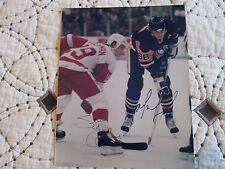 """Mario Lemieux """"Pittsburgh Penguins"""" Autographed 8x10 Photo w/Coa"""