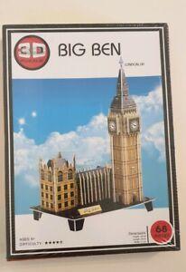 Big Ben 3D Puzzle 68 Piece