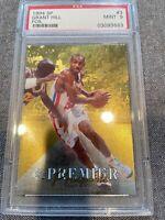 1994 SP Foil #3 Grant Hill Pistons RC Rookie PSA 9 MINT