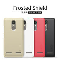 Nillkin Super Frosted Shield Matte Rigid Plastic Cover Cases For Lenovo K6 Power
