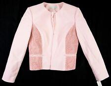 Women's Katherine Kelly size 14 Long Sleeve Pink Monica Open Blazer Jacket NWT