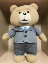 """Teddy Bear Toy 13.2"""" 33CM TED2 Movie Doll Animal Soft TED Gray Suit"""
