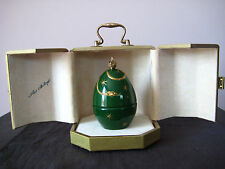 Theo Faberge Devil Egg with Certificate hand signed in person by Theo Faberge