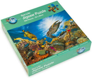 NEW - SEA LIFE 500 Piece Jigsaw Puzzle - NEW & SEALED - FREE DELIVERY