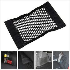 2019 Black Nylon Car Trunk Rear Cargo Organizer Storage Elastic Mesh Net Holder