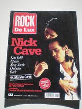 ROCK DE LUX Sep. Nº 133 Nick Cave SEXY SADIE Beck DUBSTAR Ken Ishii RDL