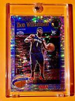 Zion Williamson SILVER PULSAR PRIZM RC PREMIUM STOCK 2019-20 NBA HOOPS TRIBUTE