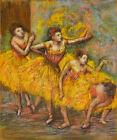 Four Dancers Ballet Dance 1903 Painting By Edgar Degas  Art Repro FREE S/H