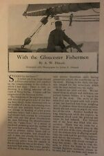 1903 With the Gloucester Fishermen illustrated