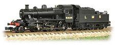 Graham Farish Ivatt Class 2MT 2-6-0 6404 LMS Black N gauge Steam Loco UK
